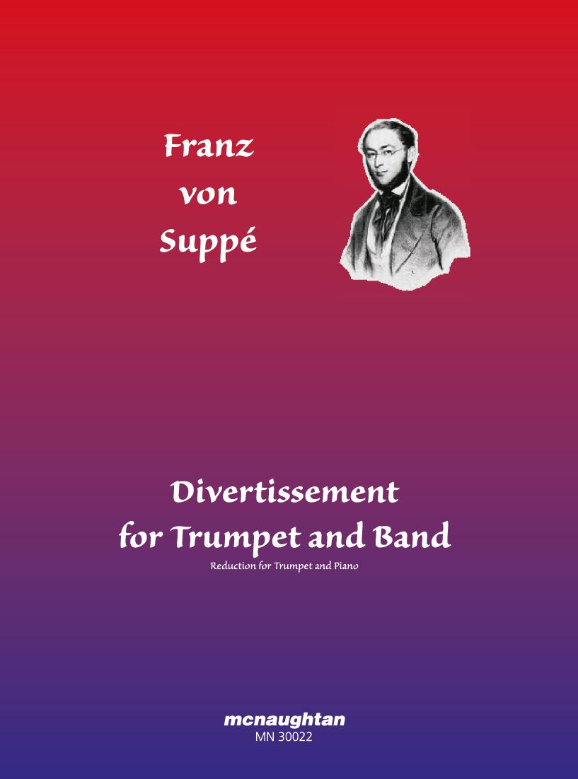 SUPPE Divertissement Trumpet/Piano