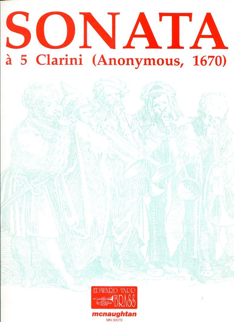 ANONYMOUS(Czech) Sonata à 5 Clarini