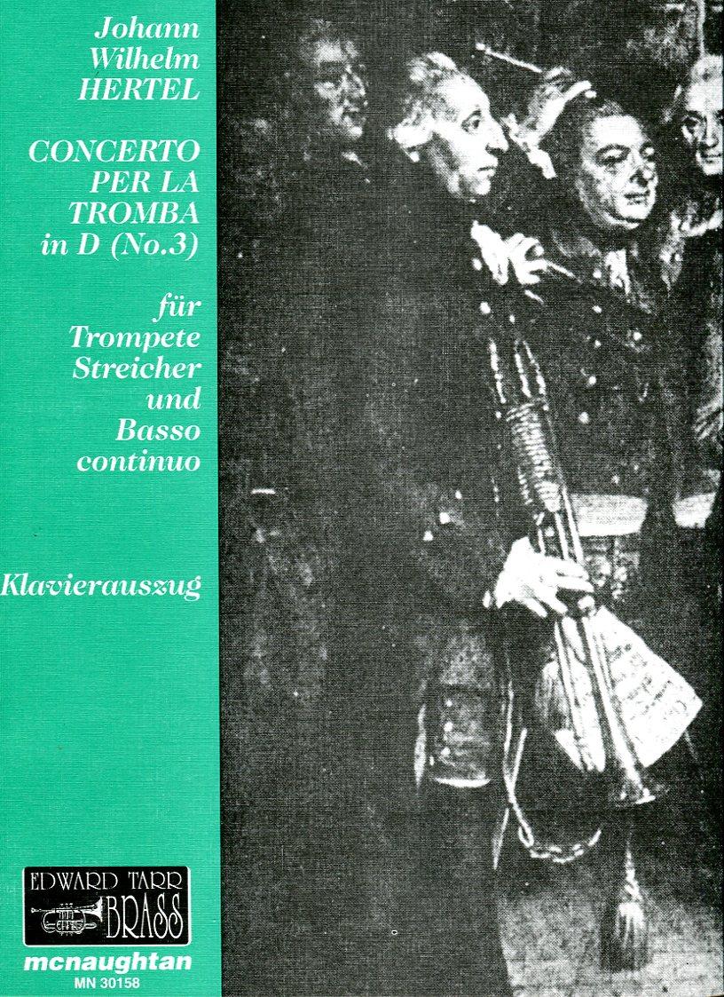 HERTEL Concerto per la Tromba No. 3 in D
