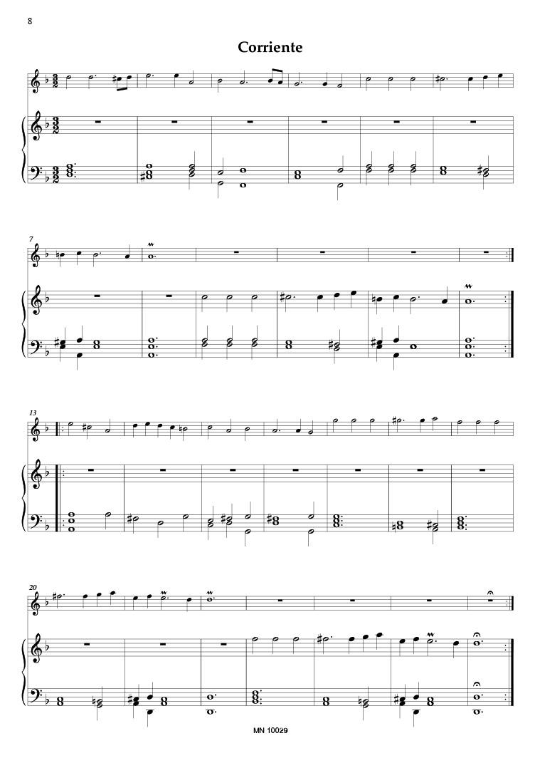 ANONYMOUS Canción para la Corneta con el Eco