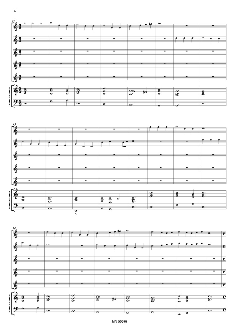 ANONYMOUS(Czech) Sonata à 5 Clarini