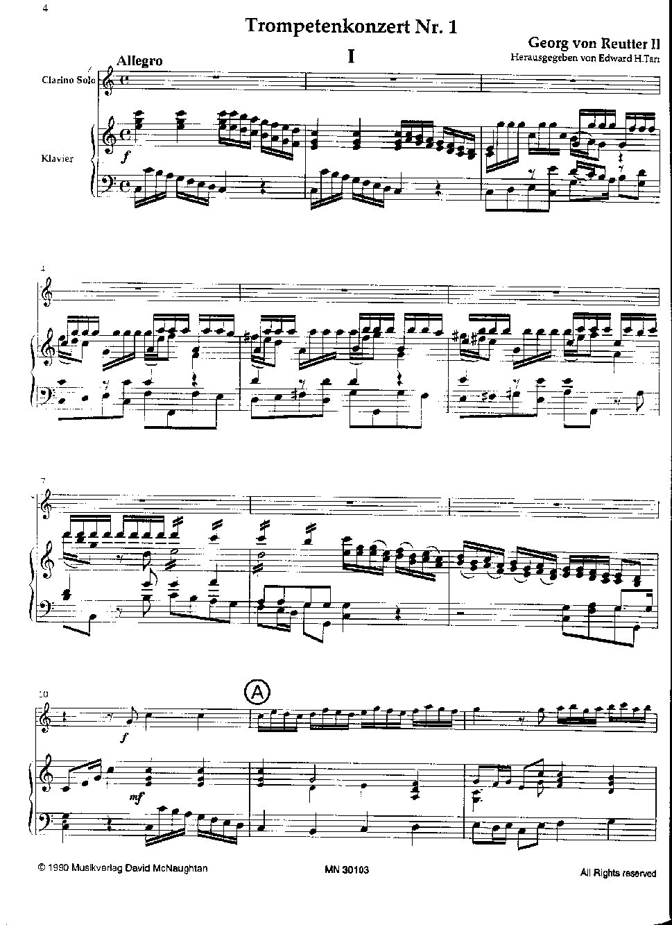 REUTTER 2 Concertos