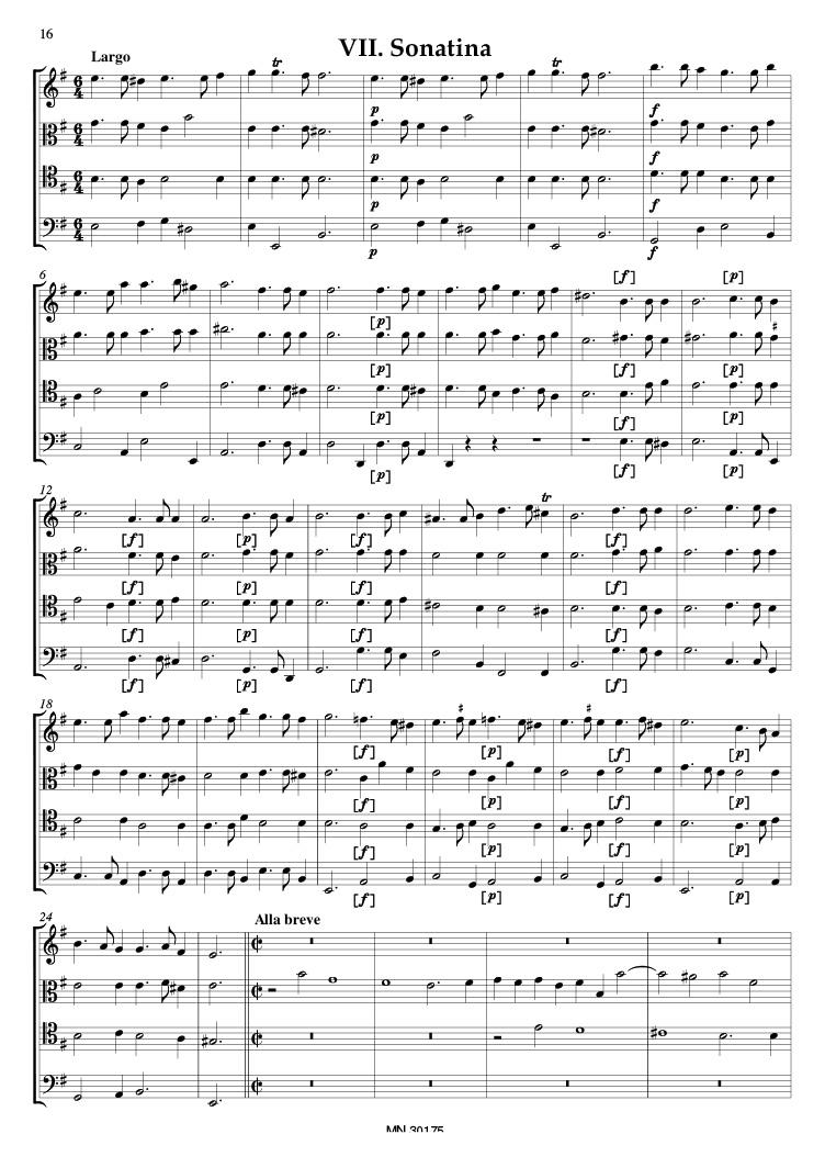 REICHE 24 Quatricinia Score+Parts